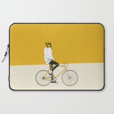 The Yellow Bike Laptop Sleeve