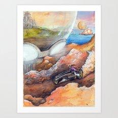 Neo SengokuJidai Art Print