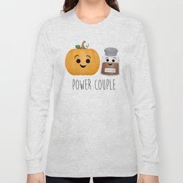 Pumpkin + Spice = Power Couple Long Sleeve T-shirt