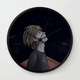 Armin Arlert and Stars Wall Clock