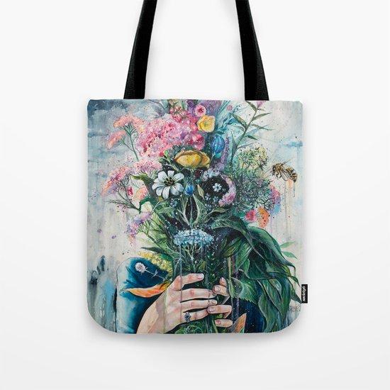 The Last Flowers Tote Bag