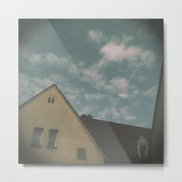 When it rains on sunday and you are alone Metal Print