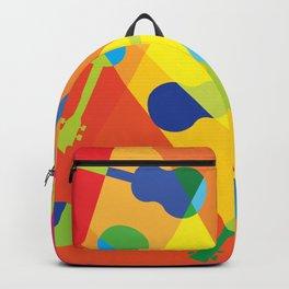 ukulele pattern Backpack