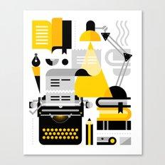 Creative Writing Canvas Print