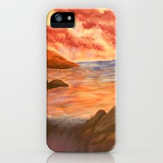 Beach Sunset Slim Case iPhone (5, 5s)