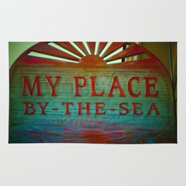 My Place By The Sea Rug