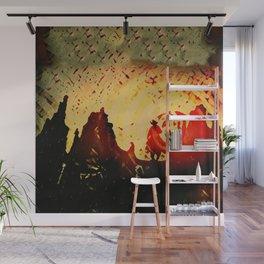 Sundowner Wall Mural
