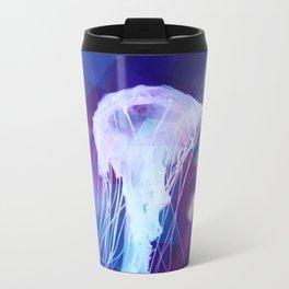Polygonal jellyfish Travel Mug