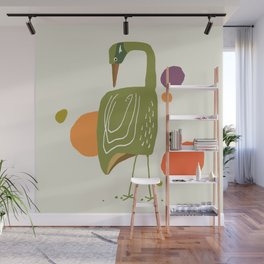 Quirky Brolga Wall Mural