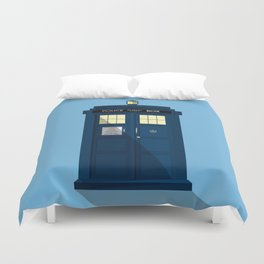 The TARDIS Duvet Cover