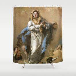 The Immaculate Conception by Giovanni Battista Tiepolo (c 1768) Shower Curtain