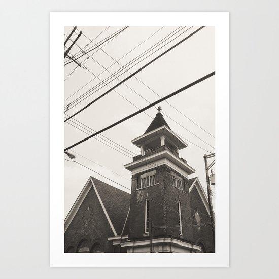 church Art Print