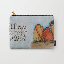 Broken Vessels Carry-All Pouch