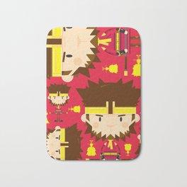 Cute Sun Wukong The Monkey King Pattern Bath Mat