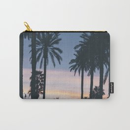 SUNRISE - SUNSET - PALM - TREES - NATURE - PHOTOGRAPHY Carry-All Pouch
