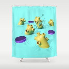 Splash Down Shower Curtain