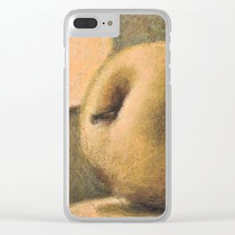 Bathing in sunlight Clear iPhone Case
