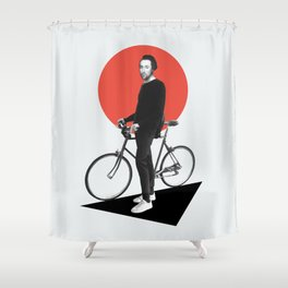 The wheel is come full circle. I am here Shower Curtain