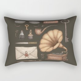 A Sophisticated Assemblage Rectangular Pillow