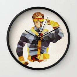 Polygon Heroes - Cyclops Wall Clock