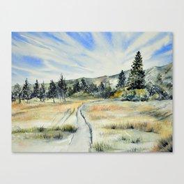 Verdi Glen Canvas Print