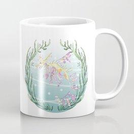 Leafy Seadragon in Lilac Coffee Mug