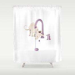 Cornish Rex Shower Curtain