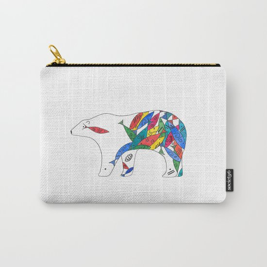 The Mayan Polar Carry-All Pouch