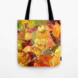 The Fall Forest Floor Tote Bag