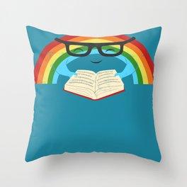 Brainbow Throw Pillow