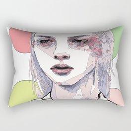 Girls with no name Rectangular Pillow