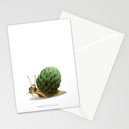 Snail DJ Stationery Cards