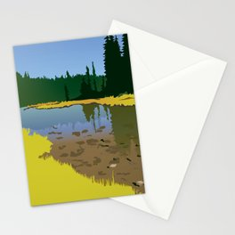 Junction Lake Stationery Cards