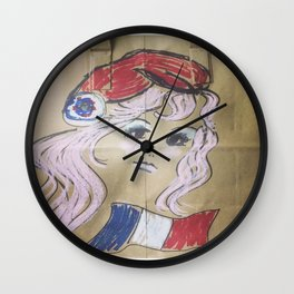 Pink Ladies: Marianne Wall Clock