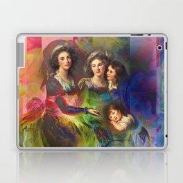 Rainbow Silks Laptop & iPad Skin