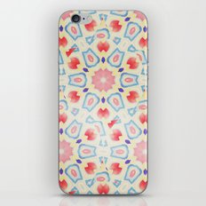 RED ARABESQUE iPhone & iPod Skin