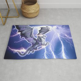 Lightning Dragon Rug