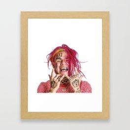 6ix 9ine Framed Art Print