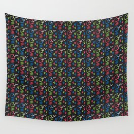Memphis Style Brights Wall Tapestry