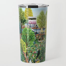 Summer In The Park by Kathy Jakobsen Travel Mug