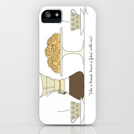 have a fika with me iPhone Case