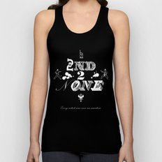 2nd 2 None : white Unisex Tank Top