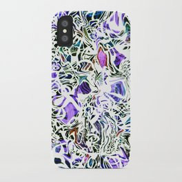 Purp Lives (OH. Oakland) iPhone Case