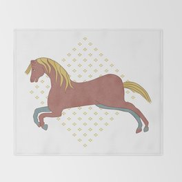 The Horse Throw Blanket