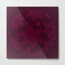 Christmas Bauble Metal Print