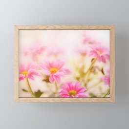 Colorful flowers watercolor painting #2 Framed Mini Art Print