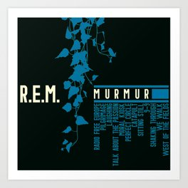 Murmur Art Print