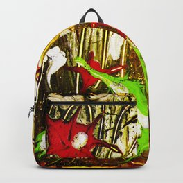 abstraction. fireworks Backpack