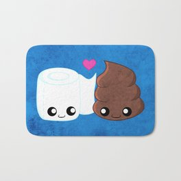 The Best of Friends - Toilet Paper and Poop Bath Mat