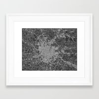 moscow Framed Art Prints featuring Moscow by Upperleft Studios